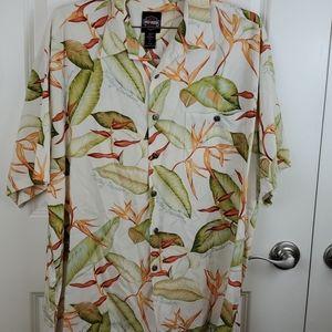 Harley davidson Hawaiian shirt size L